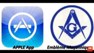 Apple App & Masonic Symbol (foto YouTube)