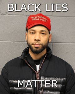Jussie Smollett lies