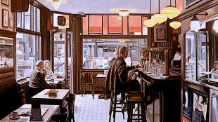 Paul Vereecke - Café Pelikaan, Antwerpen