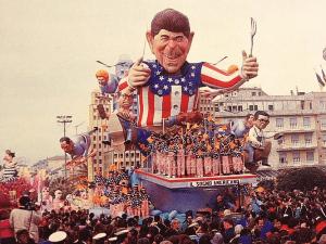 Reagan praalwagen (Foto F. Marturana)