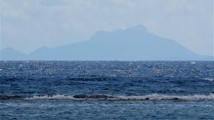 Venezuela voor de kust van Aruba (foto Caribisch Netwerk)