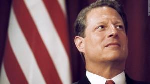 Constitutional Patriot DULY ELECTED President Albert Gore Jr (foto Tom Heneghan Briefings)