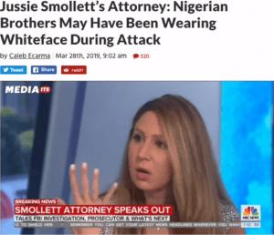 De advocaat van Jussie wijst naar de 'Nigerianen' (foto Davey Crocko)