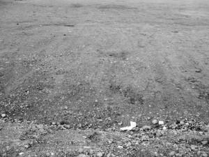 De plek waar Gregory Tennant zijn opgravingen deed