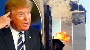 DonaldTrump & 9:11 (foto Tom Heneghan Explosive Intelligence Briefings)