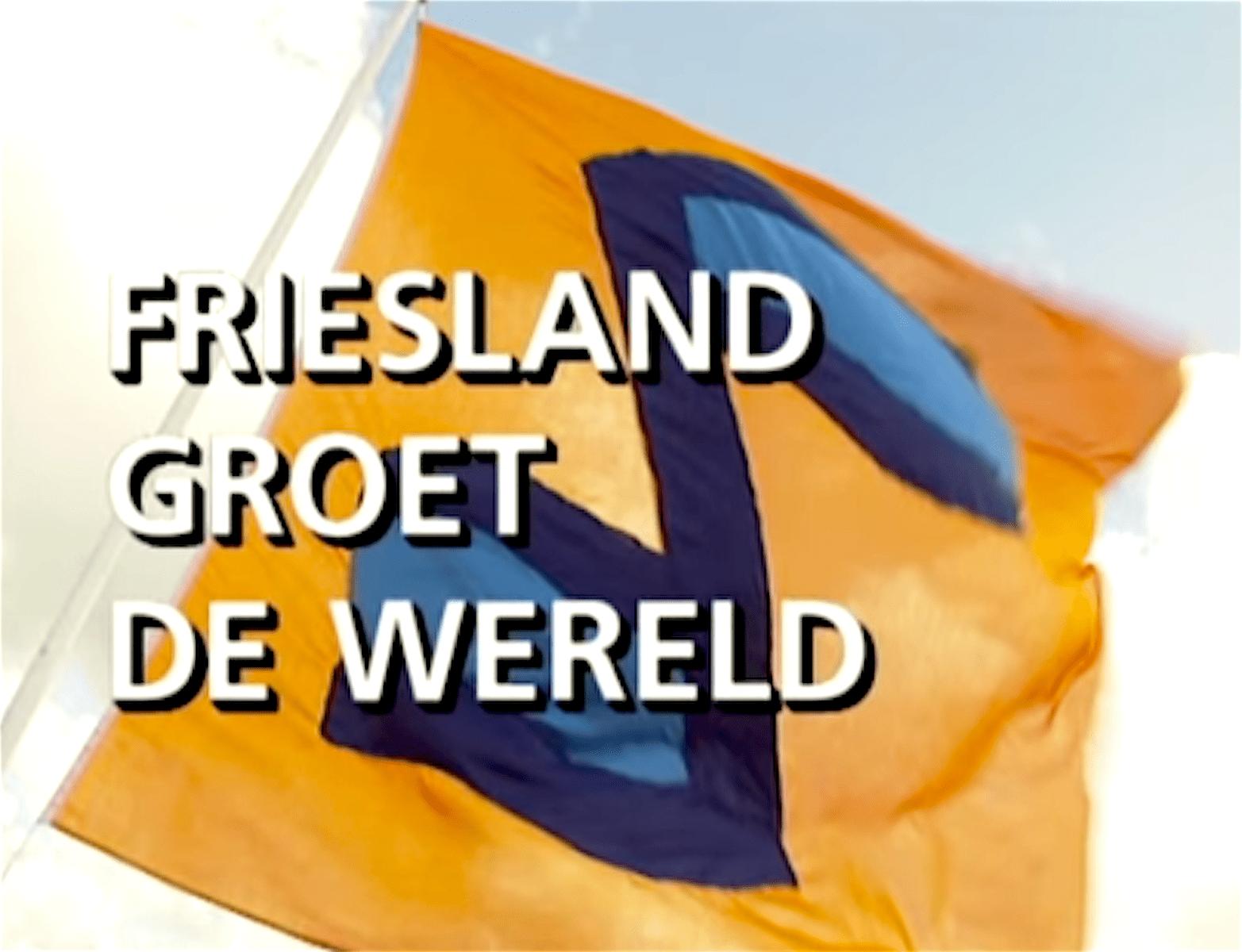 Friesland Groet De Wereld (foto YouTube)