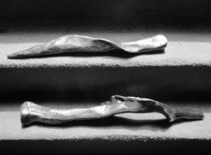 Geschroefde bronzen spijkers, ca. 5500 v. Ch.