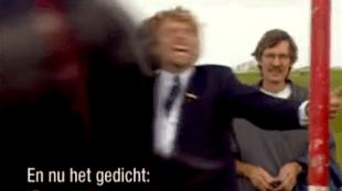 Koos Dalstra op het Frysk Festival 1995 (foto YouTube)