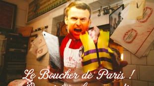 Le Boucher de Paris ! Ouvert tous les samedis (foto Twitter)