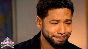 Lying crying Jussie Smollett (foto Empressive)