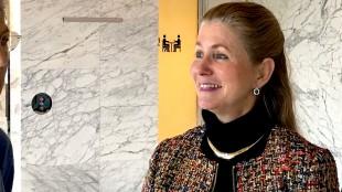 Marielys Roos, raadslid van Hart voor Bloemendaal(foto Dimitri Walbee: NH Nieuws)