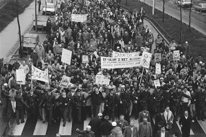 Protest in Nederland (Foto Greedmedia)