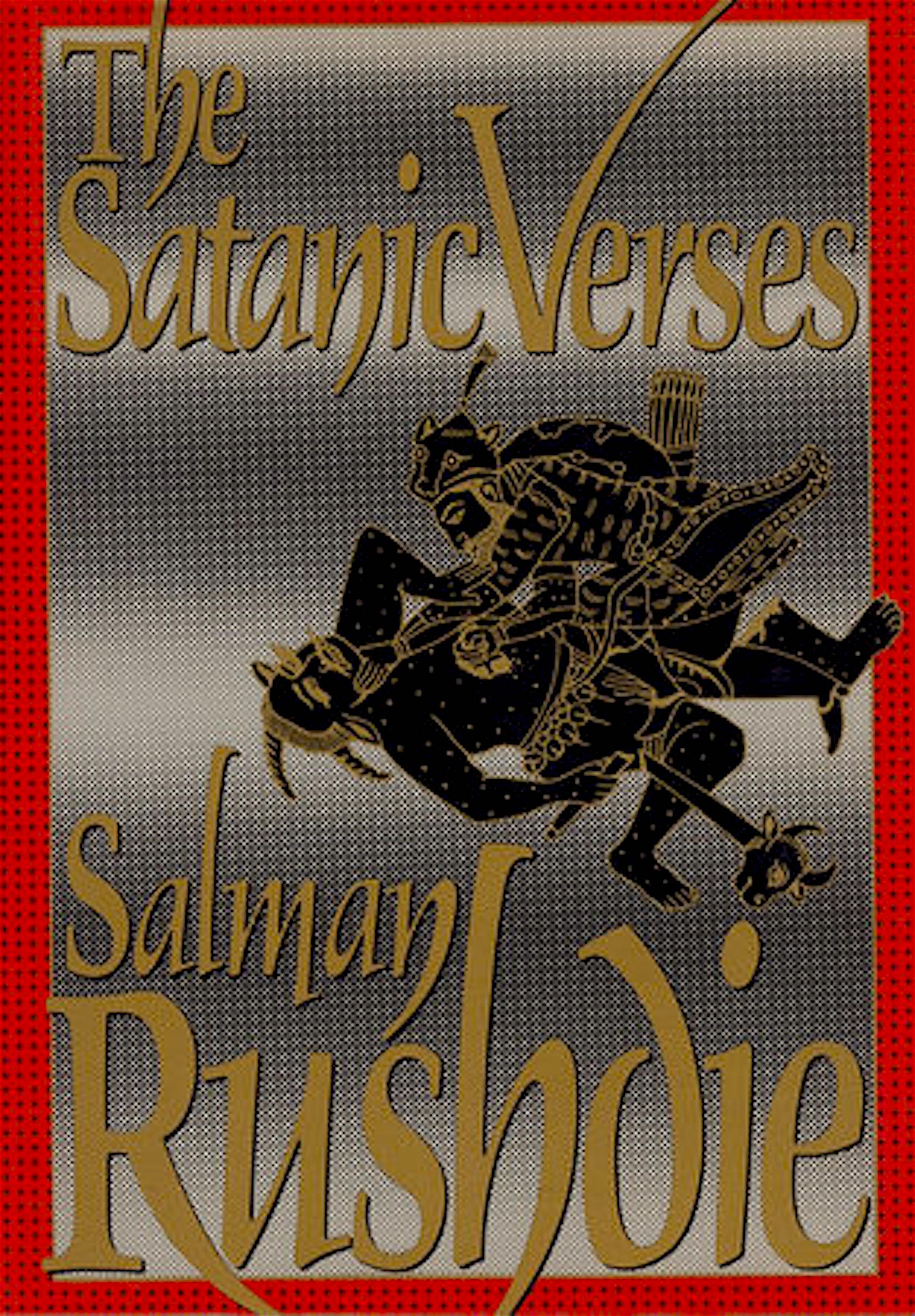 Salman Rushdie – The Satanic Verses (foto Penguin Random House)