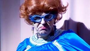 Travestie act Gerrit Zalm (foto NH Nieuws)