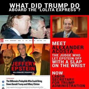 Trump & Epstein etc. (foto before It's News)