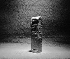 Zilveren beeldje gevonden in een graf, ca. 600 v. Ch.