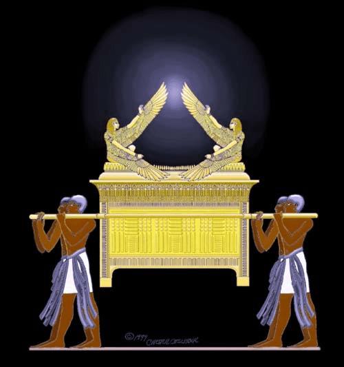 Ark of the Covenant (foto Comstock Sculpture Studio)