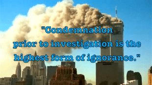"""""""Condemnation prior to investigation is the highest form of ignorance"""" (foto Before It's News)"""