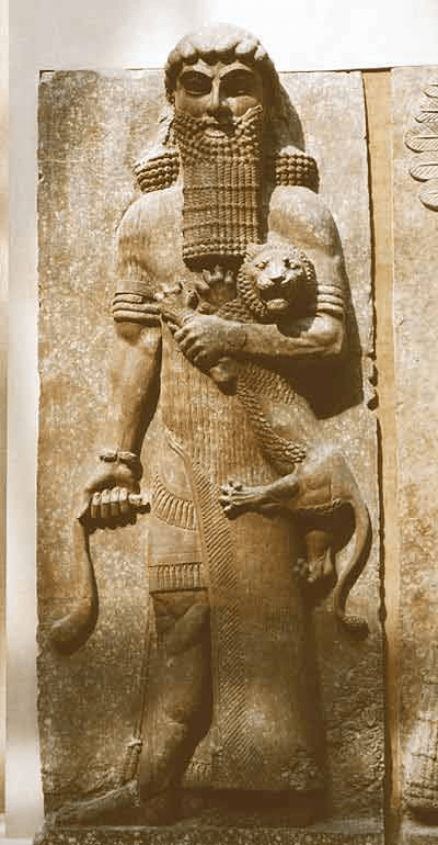 Gilgamesh (foto Louvre, Paris)