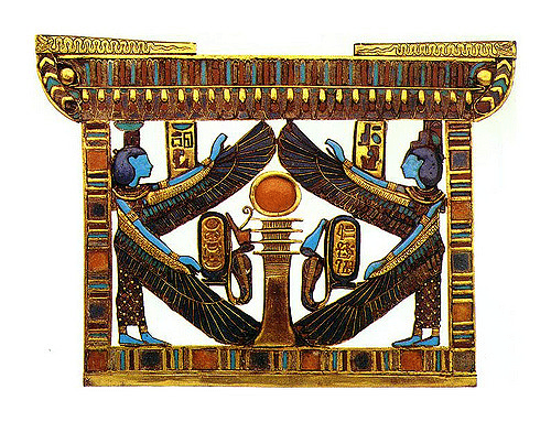 King Tut's Isis & Nephthys Pectoral (foto sergiothirteen)