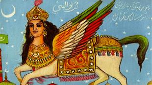 Mohammeds hemelreis (foto slidesharecdn)