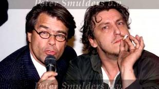 Rob Scholte samen met Emile Ratelband, 27 november 1999 (foto Peter Smulders BV)