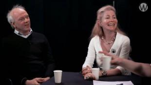 Rob Slewe & Marielys Roos bij Café Weltschmerz (foto YouTube)