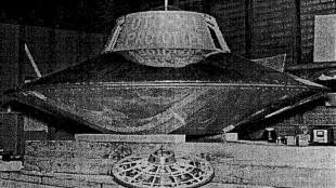 The Flying Saucer Built by Otis Car 2018 (foto Before It's News)
