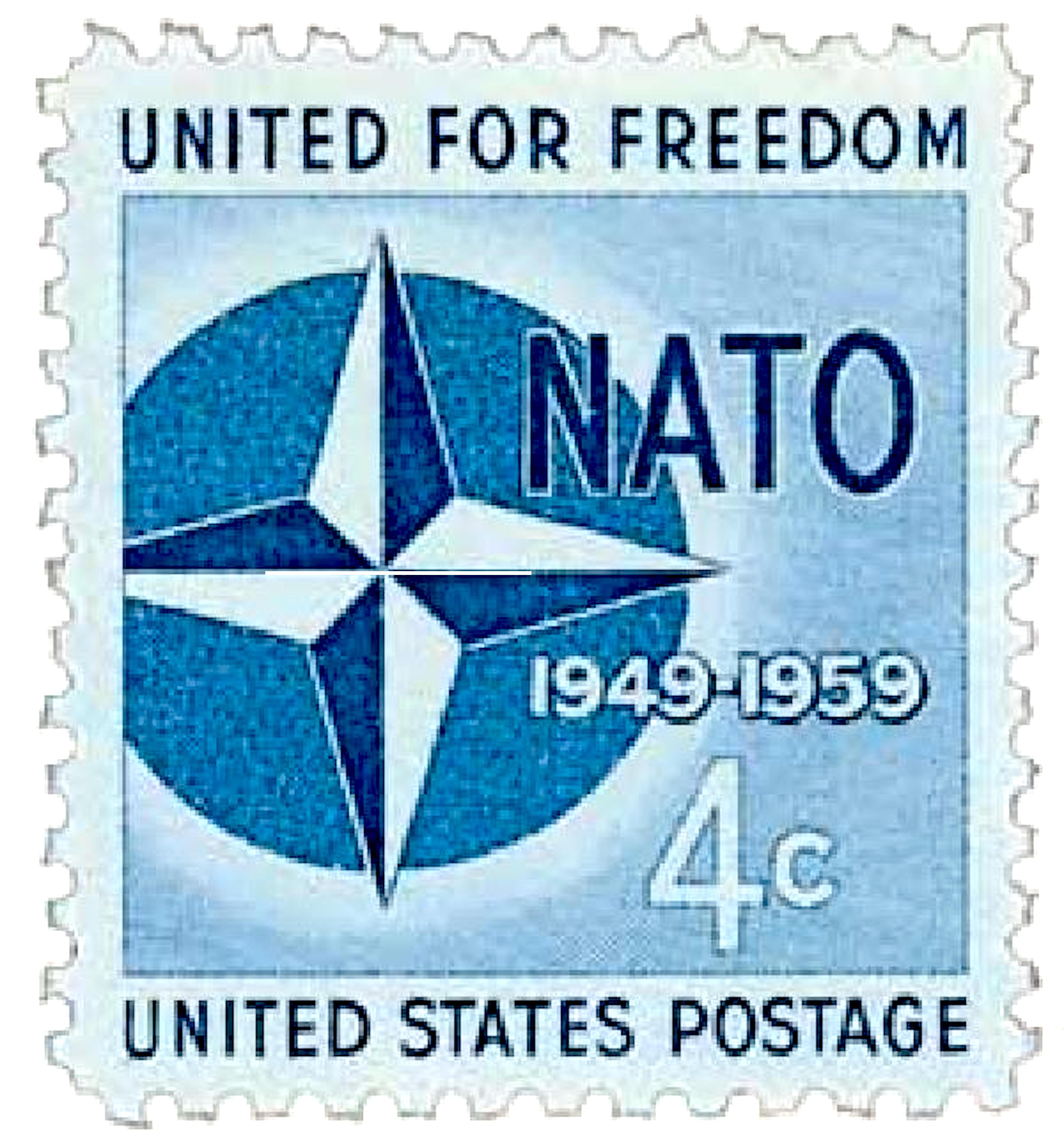 United for freedom United States Postage (foto Etsy)