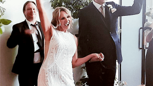 Adam Curry getrouwd met Tina Snider (foto Instagram)