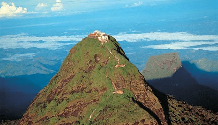 Adam's Peak - Sri Lanka (foto BM Air Reizen)