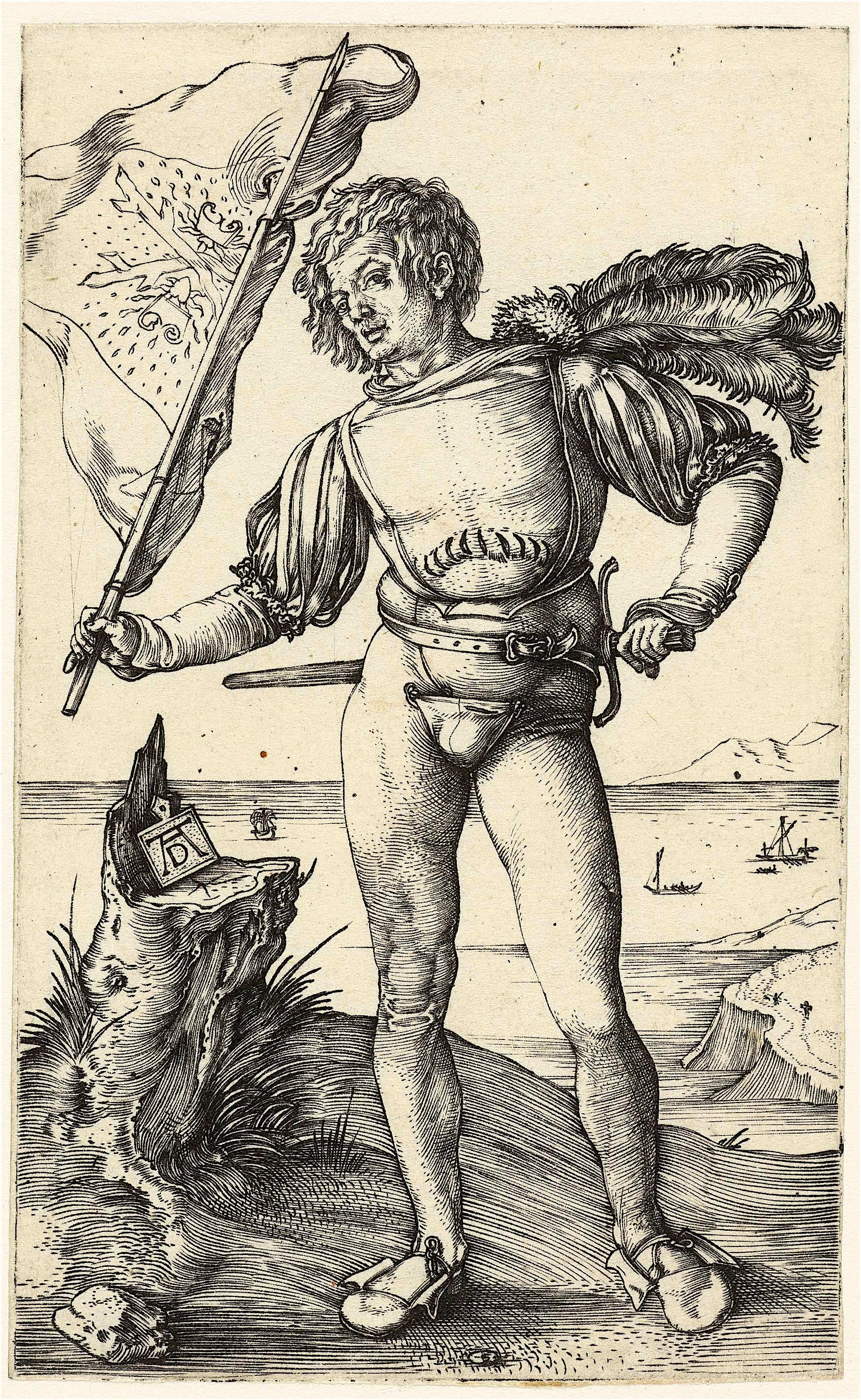 Albrecht Dürer – De vaandeldrager