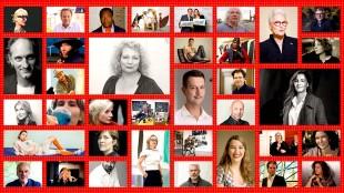 Kandidaat directeuren van het Stedelijk museum (foto Pepijn Zurburg)