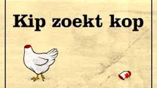 Kip zoekt kop (foto Boomerang Cards)