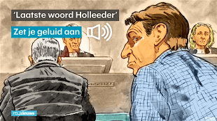 'Laatste woord Holleeder' (foto YouTube)