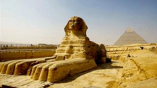 Le Grand Sphinx De Gizeh (foto 4eme Annee)