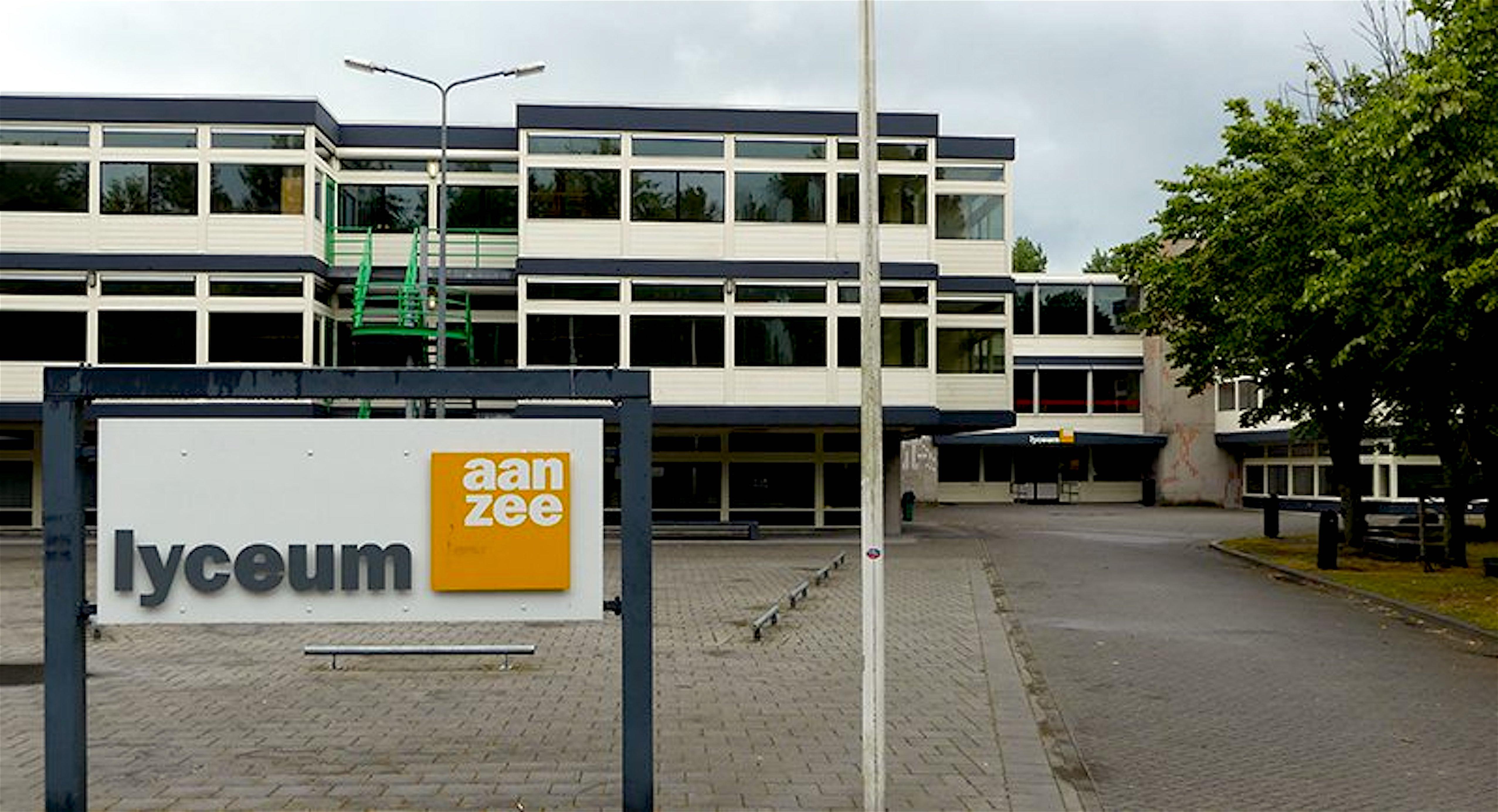 Lyceum aan Zee te Den Helder (foto TPO)