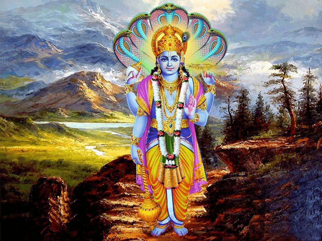 Visjnoe (foto Hindu Bhagwan)