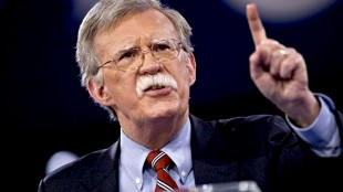 Warmonger John Bolton (foto Before It's News)