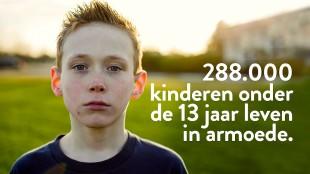 288.000 kinderen onder de 13 jaar leven (foto Augeo)