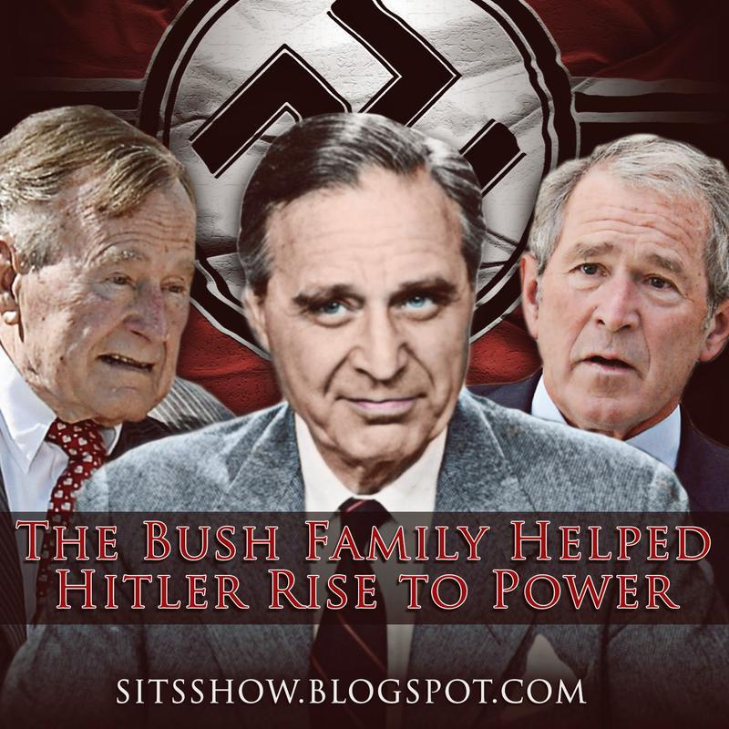 Bush Family Helped Hitler Rise to Power (foto Tom Heneghan)