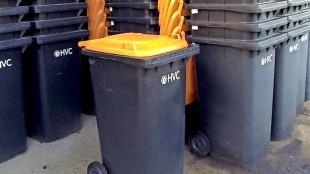 Containers van afvalverwerker HVC voor plastic (foto NHD)