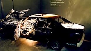 De BMW van Rob Scholte in Arti et Amicitea (foto galeries.nl)