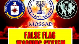 False Flag Warning System | by way of deception thou shall do WAR | CIA | Mossad |MI6 (foto Tom Heneghan Intelligence Briefings)