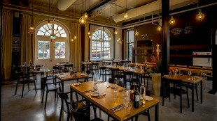 Interieur Restaurant Stoom (foto DHA)