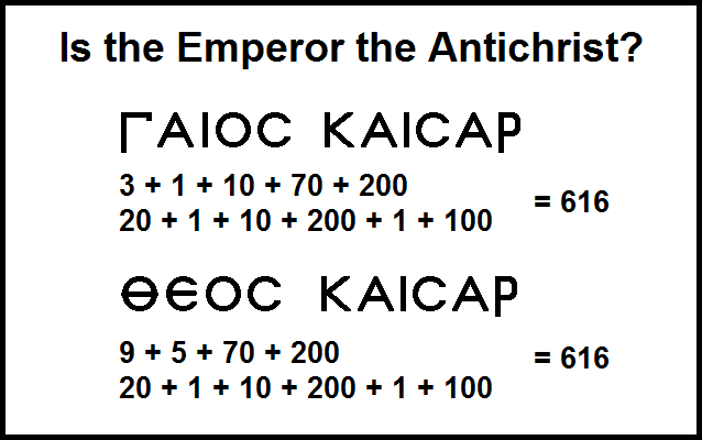 Is the Emperor the Antichrist? (foto What does It Mean)