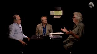 Kees van der Pijl & George van Houts & Stan van Houcke bij Café Weltschmerz) (foto YouTube)