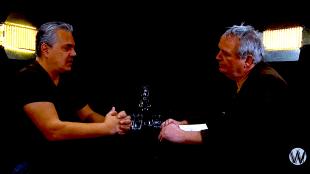 Max van der Werff & Joost Niemöller bijn Café Weltschmerz (foto YouTube)