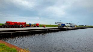 Na drie jaar het eerste gebruik van de Kooyhaven (foto L.O.S.)