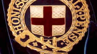 Orde van de Kousenband Embroidery (foto De Huizern van Oranje en Nassau)